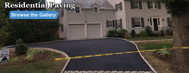 Residential Asphalt Paving Project
