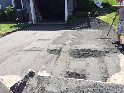 paving driveway